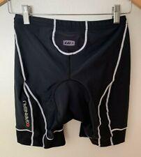 Louis Garneau Men's Tri Course Shorts Black Sz Large Triathalon Padded