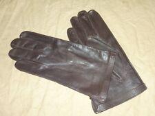 Paire de gants cuir brun type officier allié 1944-1945 US Army taille 7,5