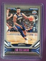Zion Williamson 2019-20 Panini Chronicles 🌺PINK💗 Foil SP Playbook RC #169🔥