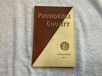 Vintage 1969 Dog Show Catalog Providence County Kennel Club Rhode Island