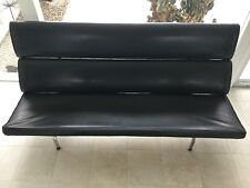 Vintage Eames Herman Miller Compact Sofa Mid Century Modern Original With Label