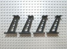 LEGO 4x Stütze 4476 schwarz aus 6990 6983 6381 6987 6955 6953 7839 6956