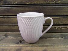 Largo Wisteria by Lenox Coffee Mug Basketweave Border Coupe BRAND NEW