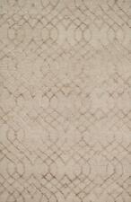 5'x7' Loloi Rug Panache 60% Wool 40% Viscose Taupe Hand Hooked Transitional PC-0