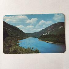 Delaware Water Gap Scenic Pocono Mountains Pennsylvania Unposted Postcard