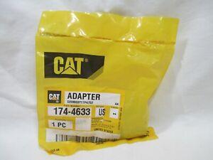 NEW Genuine Cat Caterpillar Adapter 174-4633