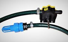 Waterbed Mattress Quick Draining PUMP Kit 1300y LPH & Instructions-Fast Delivery