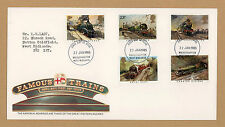 United Kingdom First Day Cover Transports Postal Stamps