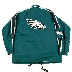 NEW NWOT VTG Philadelphia Eagles 1996 Starter Full-Zip Jacket Coat Windbreaker