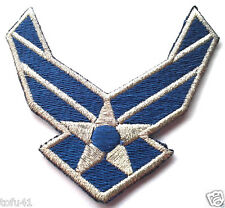 UNITED STATES AIR FORCE LOGO II WINGS Military Veteran Patch PM5417 EE