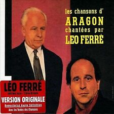 Ferre, Leo, Les Chansons D'Aragon Chantees Par Leo Ferre  (L'Intégrale 1960-1974