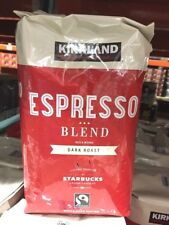 Kirkland Signature Roasted by Starbucks Espresso Whole Bean Coffee 907g