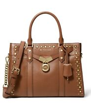 Michael Kors Nouveau Hamilton Luggage Leather Satchel Bag $398.00