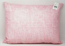 "Ralph Lauren Heatherly 100% Cotton Feather Decorative Pillow 15"" x 20"" - Pink"
