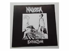 Nausea-Extinction-LP-POSTER - COVER