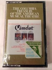 THE COLUMBIA TRESURY OF THE AMERICAN MUSICAL THEATRE CAMELOT SEALED CASSETTE