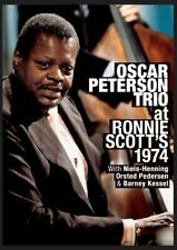 Oscar Peterson - Live at Ronnie Scotts (DVD) NTSC rare NEW
