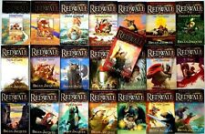 Redwall Series Set Collection Vol.1-22 Books by Brian Jacques - Large Paperback