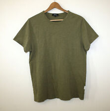 A.P.C. Olive Green Tee T-Shirt Crewneck Authentic Men's Large LNWOT