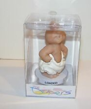 "The Diapers 4"" Figurine Sculpture By Dennis Franzen "" Loaded "" RARE New In Box"