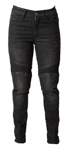 Motorcycle Jeans Womens Motorbike Jeans made with Kevlar Aramid Lining-SALE
