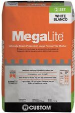 CUSTOM BUILDING PRODUCTS MegaLite 30 lb. White Crack Prevention Tile Mortar