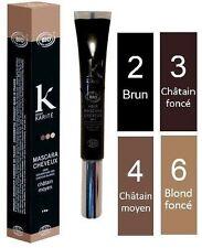 Mascara cheveux bio Châtain moyen n°4 K POUR KARITE 15 G