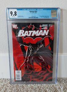 Batman #655 CGC 9.8 WHITE Pages