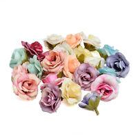 5/10pcs 4cm DIY Silk Rose Flower Head Artificial Flower Home Wedding Decoration