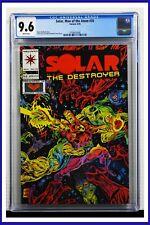 Solar Man Of The Atom #35 CGC Graded 9.6 Valiant August 1994 Comic Book