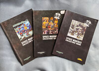 Warhammer 40K Space Marines Collectors Guide Book 1st 2nd 3rd Ed Games Workshop