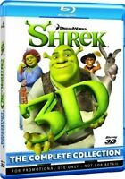 Shrek 3D: The Complete Collection (3D, Blu-Ray, 4-Disc)