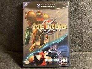 Nintendo Metroid Prime Game with Bonus Metroid Prime 2 Demo Game Complete