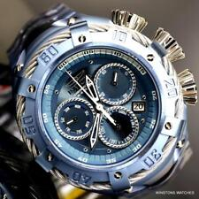 Invicta Thunderbolt Light Blue Stainless Steel Steel 52mm Chronograph Watch New