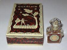 Vintage Guerlain Mitsouko Perfume Bottle & Box 1/4 OZ - 7.5 ML - Open - 2/3 Full