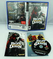 Jeu Beat Down : Fists of Vengeance sur Playstation 2 CD REMIS A NEUF (PAL) VF