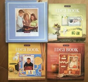 CTMH Close to My Heart Stamping - Idea Book & Catalogs - Lot of 4 - 2004 to 2006