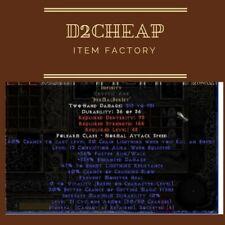 Infinity ETH CV / CA - Diablo 2 Europe / East / West Ladder & NON