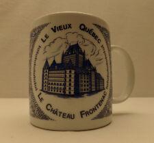 MUG le vieux Québec, le château Frontenac, starbucks, tasse, café , thé, etc.