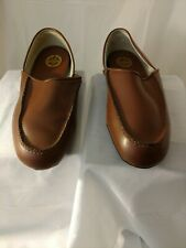 L B EVANS Men's Chicopee Classic Style 2198 TAN, Leather Slippers Size 10E