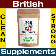 Clean Green Tea Extract Capsules 9,360mg Polyphenols, Catechins 1 Month Supply