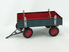 Blechspielzeug - Traktor Anhänger für Lanz Bulldog, blau von KOVAP 0403b