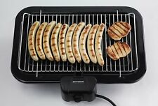 Grill Wire Severin 2790 XXL BBQ 2500W Low Generation of Odors and Fumes GERMANY