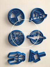 6 pcs Super Hero Marvel Avengers Cookie Cutter Sugarcraft Cake Decoration Marvel