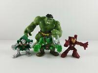 Hasbro Marvel Super Hero Squad Incredible Hulk/King Hulk/Doctor Doom/Iron Man