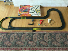 VINTAGE TYCO DOUBLE DANGER SLOTLESS CAR RACING SET WITH BOX