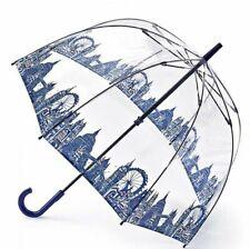 London scene  Domed umbrella by Fulton.