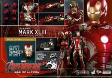 Hot Toys MMS278D09 Iron Man Mark 43 Avengers Age of Ultron 1/6 Diecast Exclusive