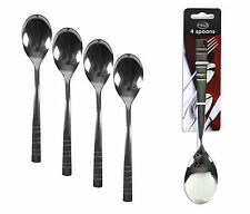 8 x Dinner Serving Stainless Steel Large Serving Cutlery Dessert Spoons