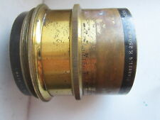 Very early  lens Carl-Zeiss-PLANAR-1-4-250  brass Seria Ia №13
